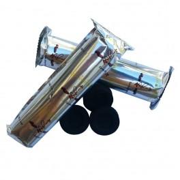 Carbón Ligero Instantáneo Cinco Estrellas - Litúrgico - 33 mm