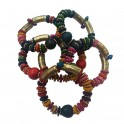 Pulsera Multicolor Cascabel India