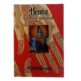 Tatuaje Natural de Henna - Radhe Shyam