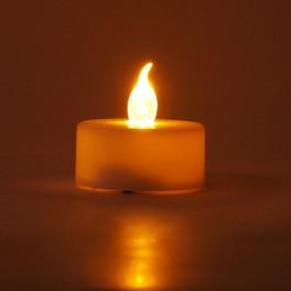 Vela Led Efecto LLama de Fuego - Sin Riesgo