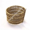 Brazalete Dorado multiple ajustable