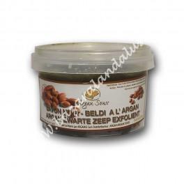 Jabon Natural Negro Beldi al Aceite de Argán | Hammam Árabe