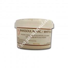 Arcilla Blanca | Ghassoul - Rhassoul Blanco Refinado | Sin Parabenos