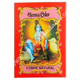 Henna Color Cobre Natural - Henna 100% Natural - Radhe Shyam