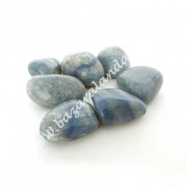 Cuarzo Azul - Mineral Rodado de Cuarzo Azul Mediano
