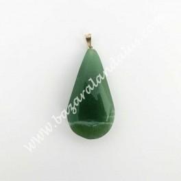 Cuarzo Verde - Lagrima para Colgante - Calidad Extra