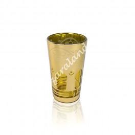Vasos de té Laca Oro