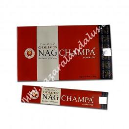 Golden Nag Champa Incienso Varilla - Vijayshree - Agarbathi