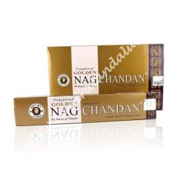 Golden Nag Chandan Sándalo Incienso Varilla - Vijayshree - Agarbathi