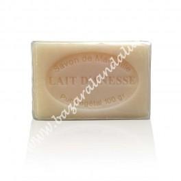 Jabón de Marsella con Leche de Burra - 100 % Natural Vegetal