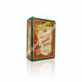 Jabón con Aceite de Sándalo Puro - Mysore Sandal Soap