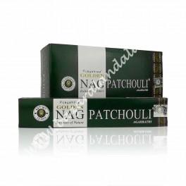 Golden Nag Patchouli Incienso Varilla - Vijayshree - Agarbathi