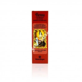 Henna Preparada en Pasta Castaño Oscuro - Radhe Shyam