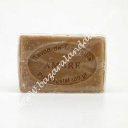 Jabón de Marsella con Ambar - 100 % Natural Vegetal