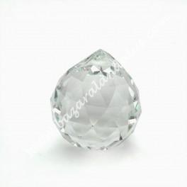 Cristal Bola Facetado - Feng Shui