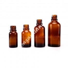 Botella Color Vidrio Topacio DIN 18