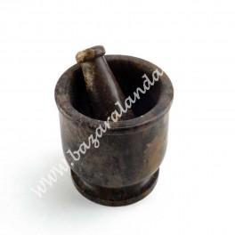 Mortero de Piedra Jabón - Artesanía India
