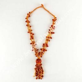 Collar Resina Artesano borlo - Importado de India