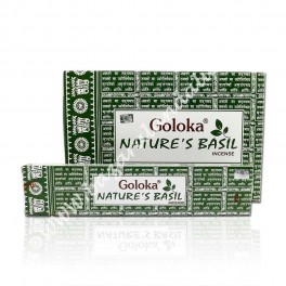 Nature s Basil - Albahaca Goloka Incienso