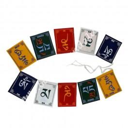 Bandera Mantra Oración Tibet - Om Ma Ni Pade Hum
