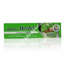 Pasta Dentífrica Dabur Con Hierbas Ayurvédicas | Extracto de hojas de Neem