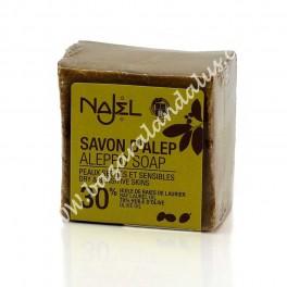 Jabón de Alepo - Oliva y 30% Aceite de Bayas de Laurel
