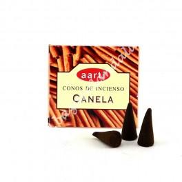 Canela - Incienso Cono Aarti - Cinnamon