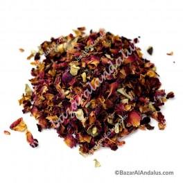 Rosa Pétalos - Incienso Herbal Natural - Decoración
