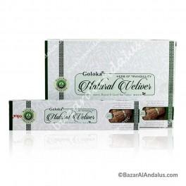 Vetiver Natural - Goloka Incienso Varilla
