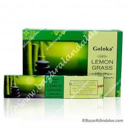 Lemon Grass - Goloka Incienso Varilla - Aromaterapia