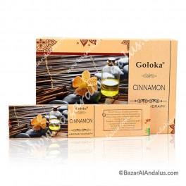 Canela - Cinnamon - Goloka Incienso Varilla - Aromaterapia