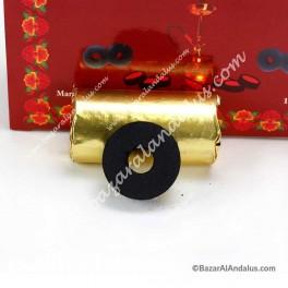 Carbón con Agujero Instantáneo Cinco Estrellas - Litúrgico - 33 mm