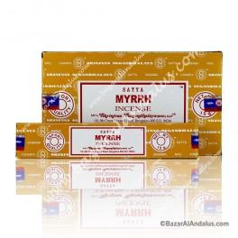 Mirra - Myrrh Incienso Varilla Masala - Satya