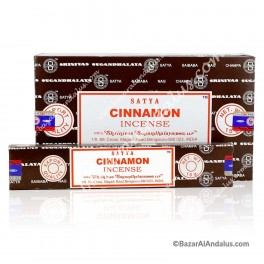 Canela - Cinnamon - Incienso Varilla para Quemar - Satya