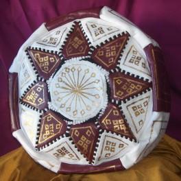 Puff Bicolor Marroquí