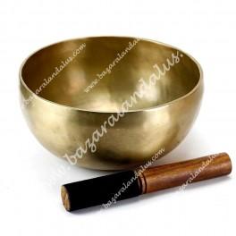 Cuenco Tibetano Ohm de 20 - 22 cm - 9 Metales