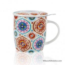 Taza Mandala Color - Porcelana China
