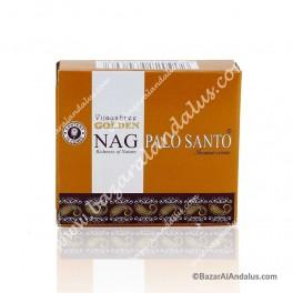 Golden Nag Palo Santo en Cono - Madera Sagrada