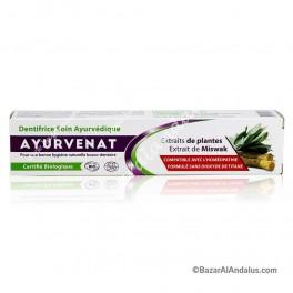 Pasta Dental Ayurvédica Orgánica con Miswak - Bio