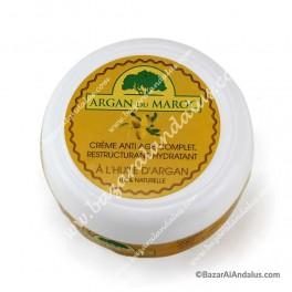 Crema Hidratante Con Aceite de Argán | Argan du Maroc