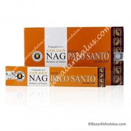 Golden Nag Palo Santo en Varilla - Madera y Aroma Sagrado