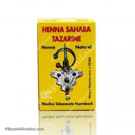 Henna Natural - Sahara Tazarine Natural - Lawsonia inermis