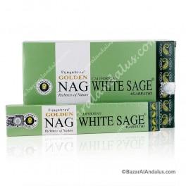 Golden Nag Salvia Blanca en Varilla - White Sage Masala