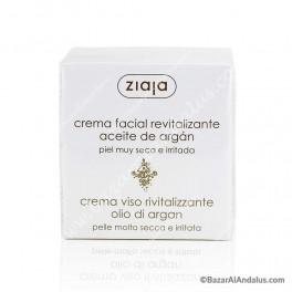 Crema Natural de Aceite de Argán - Crema Revitalizante