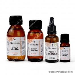 Jojoba - Aceite Vegetal BIO Puro - Primera Presión en Frío - Namasté