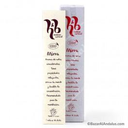 Mirra - Incienso Natural Varilla H&B - Eco Cert