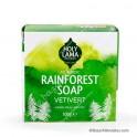 Jabón Rainforest Vetivert Artesano Ayurvédico