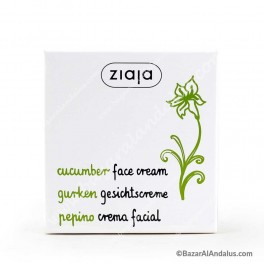 Pepino - Crema Facial - Pieles Mixtas y Grasas