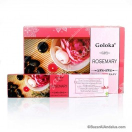 Romero - Goloka Incienso Varilla - Rosemary Aromaterapia