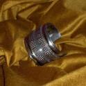brazalete pulsera plateado ajustable6